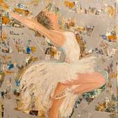 Kleedorfer-Egger Ella - Die Tänzerin, Acryl a.L, 80 x 60 cm