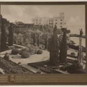 Schloss und Park in Miramar, 1860er Jahre © Bundesmobilienverwaltung/Edgar Knaack