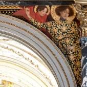 Gustav Klimt Altitalienische Kunst Zwickelbild an der Nordseite des Stiegenhauses im Kunsthistorischen Museum 1890/91 © KHM-Museumsverband