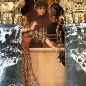 Gustav Klimt Griechische Antike I Interkolumnienbild an der Nordseite des Stiegenhauses im Kunsthistorischen Museum 1890/91 © KHM-Museumsverband