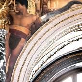 Gustav Klimt Florentinisches Cinquecento (David) Zwickelbild an der Westseite des Stiegenhauses im Kunsthistorischen Museum 1890/91 © KHM-Museumsverband