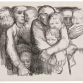 Käthe Kollwitz, Mütter, II. Fassung, 1919, Lithographie, Kn 140 I c © Käthe Kollwitz Museum Köln