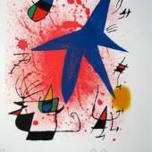 Joan Miró, Zyklus «Sonne, Mond und Sterne» (Sabine Koitka 22.000 CHF)
