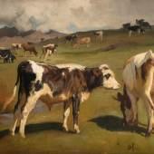 Rudolf Koller, Ohne Titel, undatiert Öl auf Leinwand, 48.5 x 59 cm, Kunstmuseum Luzern, Leihgabe aus Privatbesitz