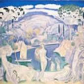 Konstantinos Parthenis (1878-1967) Badende Frauen vor 1919 Öl auf Leinwand, 114 x 130,5 cm. © Staatliche Kunstgalerie und Alexander Soutzos Museum