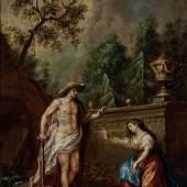 Martin Johann Schmidt, Noli me tangere - Christus als Gärtner begegnet Maria Magdalena, 1750-1799, Öl auf Leinwand, Inv.-Nr.: 168-27, © Salzburg Museum