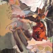 """Matthias Kroth """"O.T."""" Öl auf Schaltafel, 2014"""