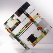 BYSTRO Design Heißglaswerk  38 x 38 cm Glasgalerie Kuchlerhaus Fotos ©: Peter Boka