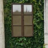 """Wolfgang Ernst (geb. 1942 in Wien) """"Michaelerkirche"""" Erdbild, 1972 Holz, Glas, Foto, Erde 132 x 87,5 x 5 cm  Zur Verfügung gestellt von: Galerie Kunst & Handel"""