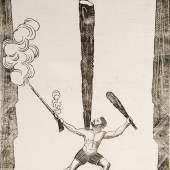 Kunstreiter - Ca. 350 Ankündigungszettel für meist in München stattfindende Vorstellungen verschiedener Kunstreiter- und Akrobatengesellschaften sowie von Schaustellern. In 3 Bdn. 1825-39. Meist ca. 56 x 43 cm.  Schätzpreis:40.000 EUR