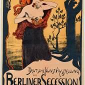 "(Ludwig von Hofmann, Plakat ""Berliner Secession"", 1899, Bröhan-Museum, Berlin, Foto: Martin Adam, Berlin © VG Bild-Kunst, Bonn 2015"
