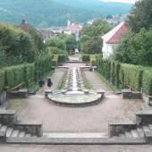 Max Laeuger Villen und Wasserkunstanlage Paradies Baden-Baden, 1922 – 1925  Foto: Badisches Landesmuseum Karlsruhe/ Arthur Mehlstäubler