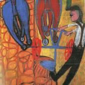 Exhibitor: Landau Fine Art, Inc.  Jean Dubuffet, Dechaumage au Brabant  Oil on canvas, 91.9 x 72.9 cm / 36¼ x 28¾ inches  1943  €1,500,000.00