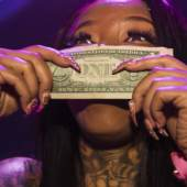 Lauren Greenfield: Secret Moneii, 28, a stripper at Magic City who made nearly $20,000 during her first week at the club, Atlanta, 2015. Credit: Lauren Greenfield/INSTITUTE © Lauren Greenfield