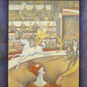 Georges Seurat Le Cirque, Georges Seurat Le Cirque, 1890-91 Öl auf Leinwand, 185,5 x 152,5 cm Paris, Musée d'Orsay, legs de John Quinn, 1927 Musée d'Orsay, Dist RMN / Patrice Schmidt