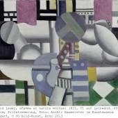 Fernand Léger, Femme et nature morte, 1921