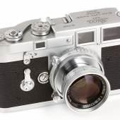 Leica M3 Prototyp (Schätzpreis 120.000 – 150.000 Euro). Ergebnis: 432.000 Euro © WestLicht Auction