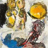 Karel Appel  Ohne Titel (Badende) 1962 Lot 156 D  Schätzpreis: 200.000 € - 220.000 €