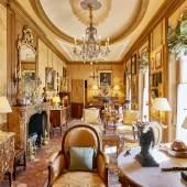 Grand Salon im Haus Alain Grubers in Fribourg Fotocredit Leo Fabrizi