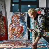 Leon Löwentraut - jung, provokativ & erfolgreich - Kunsthalle Messmer