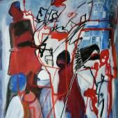 Lessel Jagoda - Die Arbeitssuchenden - Acryl a.L., 80 x 60 cm