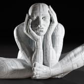 Rabarama Lettere Implose marble 160 x 233 x 164 cm