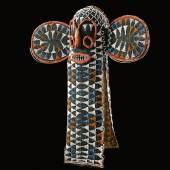 Elefantenmaske / elephant mask, Bamileke, Kamerun