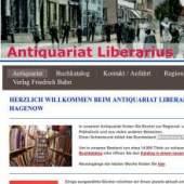 Unternehmenslogo Antiquariat Liberarius