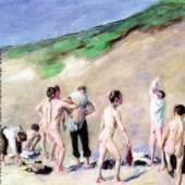 Abb.: Max Liebermann, Nach dem Bade, 1904, Tate Galllery, London © Tate Gallery, London 1997, aus dem Nachlass von B.GL. Tietz 1980