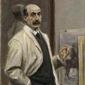 Max Liebermann Selbstbildnis, 1909/1910 Photo: Elke Walford