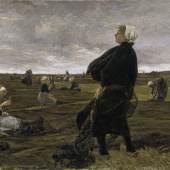 Max Liebermann Netzflickerinnen, 1887-1889 Photo: Elke Walford