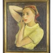 Liesel Salzer, Portrait Hilde Spiel, 1934 (c) Sammlung Dr. Marie-Theres Arnbom