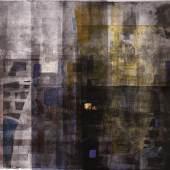 Gerd Frick; Barcelona, 1998; Farbradierung, coloriert, 100 x 123, 5 cm; Kunstsammlung des Landes Mecklenburg-Vorpommern; Foto: nordlicht © Gerd Frick