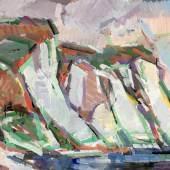 ohannes Müller; Kreidefelsen Rügen, 1985; Gouache auf Papier, 68,5 x 77 cm; Kunstsammlung des Landes Mecklenburg-Vorpommern; Foto: Gabriele Bröcker © Doreen Müller