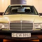 Manfred Rommels Mercedes 190E, Modell W 201, Bj. 1983, 90 PS