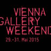 Plakat Vienna Gallery Weekend 2015