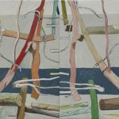 Alois Mosbacher, Lorelei, 2020_21, Öl auf LW, 95 x 150 cm © by the artist