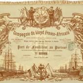 Compagnie du Lloyd Franco-Africain Société Anonyme de Navigation a Vapeur et a Voiles