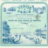 Venise a Paris Société Anonyme Francaise