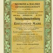 Sütterlin: Siemens & Halske AG