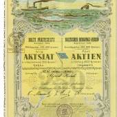 Baltischer Bergungs-Verein Gegründet 1888 / Balti Päästeselts Asutatud 1888
