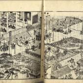Meishoki (Ehon 25,5 x 18 cm, Erstauflage 1796-1798) Illustriertes Buch, S/W Druck. Schätzpreis:500 EUR