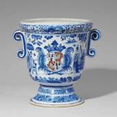 Seltener Orangenkübel mit dem Wappen der Familie von Morenthal Schätzpreis:8.000 - 10.000 EUR
