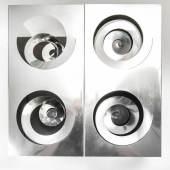 Enzo Mari Multiple 'Quattro spirali', 1958/68 H. 30 x 39 x 39 cm.  Danese, Mailand.  Schätzpreis:1.500 - 2.500 EUR