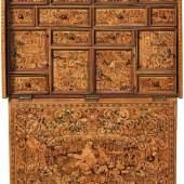 Sehr feiner Kabinettschrank Süddeutschland (wohl Augsburg), E. 16. Jh., Schätzpreis:23.500 EUR