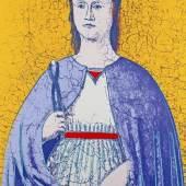Andy Warhol, Saint Apollonia (Vier Variationen), Schätzpreis:10.000 - 15.000 EUR, Zuschlagspreis:17.000 EUR