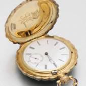 Historisch bedeutende Schmuck-Taschenuhr mit Diamantbesatz aus dem Besitz der Kaiserin Auguste Viktoria von Preußen, Mindestpreis:39.000 EUR