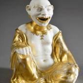 """Böttgerporzellan """"Pagode"""" mit Augsburger Goldbemalung, Entw./Ausf.: Johann Friedrich Böttger, Meissen um 1715/20 Aufrufpreis:800 EUR"""