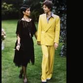 Los 126 LENI RIEFENSTAHL (1902 – 2003), Mick & Bianca Jagger, 1974, 7 chromogenic prints, jeder 60 x 50 cm, signiert