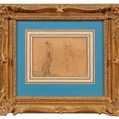 Max Liebermann (1847 Berlin - 1935 ebenda) Spielende Mädchen, Mindestpreis:3.800 EUR